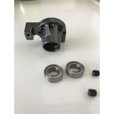 MIDDLE SHAFT BEARING STAY V2 + BEARING grey edition