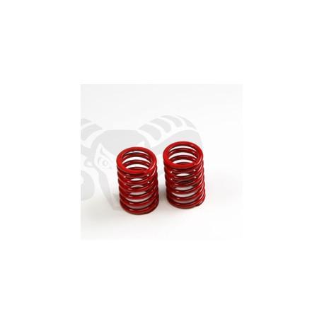 SHOCK SPRING REAR RED V8 HARD (2)