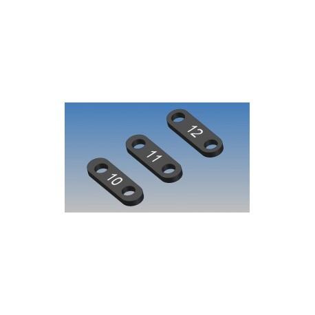 KIT SERVO SAVER PLATE PLASTIC (9-10-11-12)