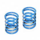 FRONT SHOCK SPRING BLUE 2PCS