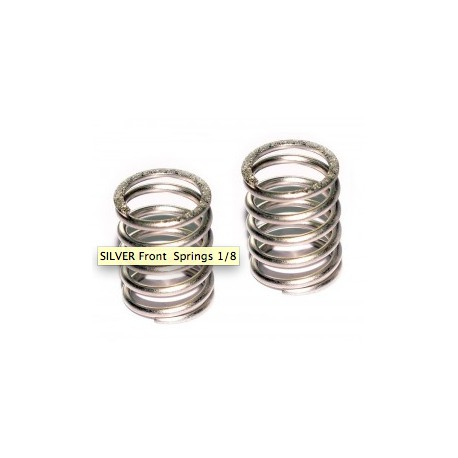 FRONT SPRING SILVER 2PCS
