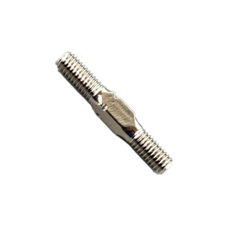 TURNBUCKLE L/R 3X20MM TITANIUM LV4 2PCS